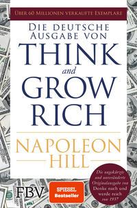 Die deutsche Ausgabe von Think and grow rich  –  Napoleon Hill, Petra Pyka